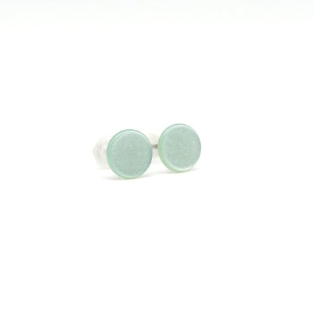 Polaris Ohrstecker light aqua green